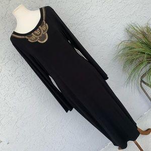• Designer • Vince Camuto • Black Maxi Dress